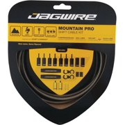 Jagwire Mountain Pro Shift Cable Kit, Carbon Silver