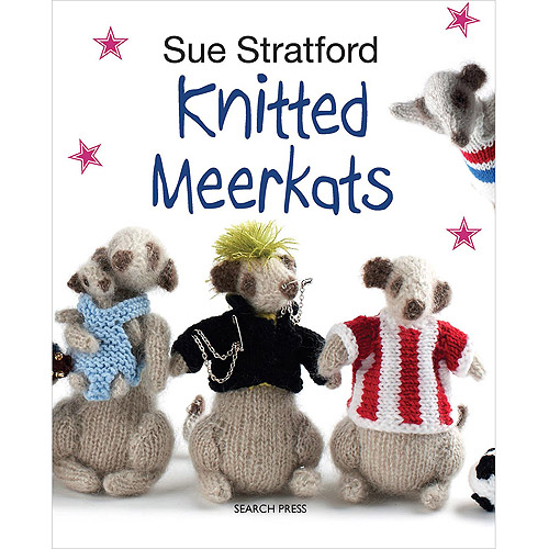 Search Press Books-knitted Meerkats