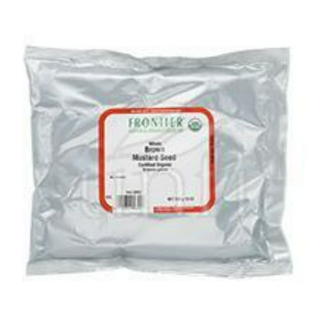 Frontier Herb Mustard Seed - Organic - Brown - Whole - Bulk - 1