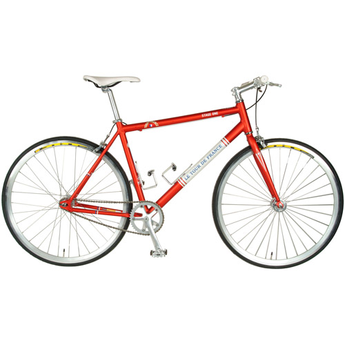 Cycle Force Tour de France Stage One Vintage Red 45cm Fixed Gear Bicycle