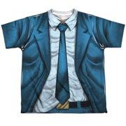 Quantum And Woody Woody Uniform (Front Back Print) Big Boys Sublimation Shirt
