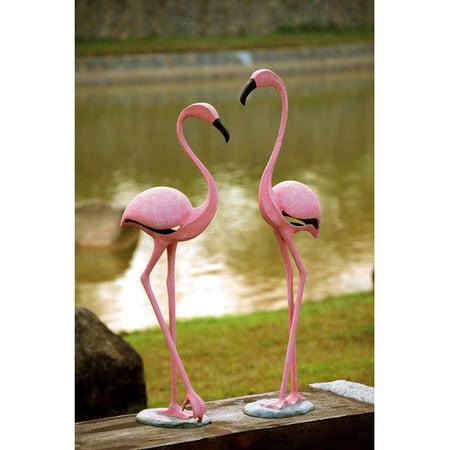 Pink Flamingo Pair