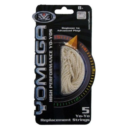 Yo-yo Replacement String - White Multi-Colored