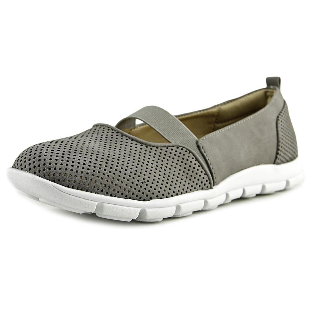 Click here to buy Eurosoft by Sofft Catania Women Round Toe Synthetic Gray Loafer by Eurosoft by Sofft.