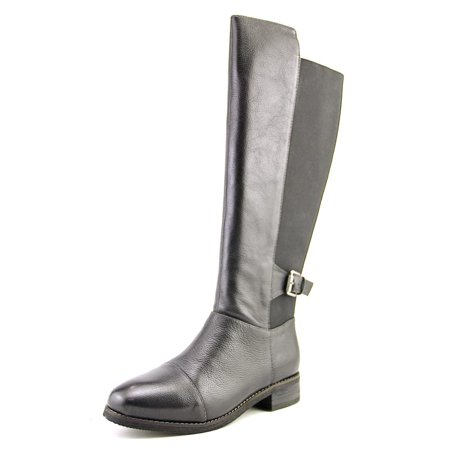 Softwalk Mission Women Round Toe Leather Knee High Boot