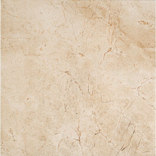 Marazzi Timeless Collection 19.56'' x 19.56'' Porcelain Field Tile in Marfil Cream