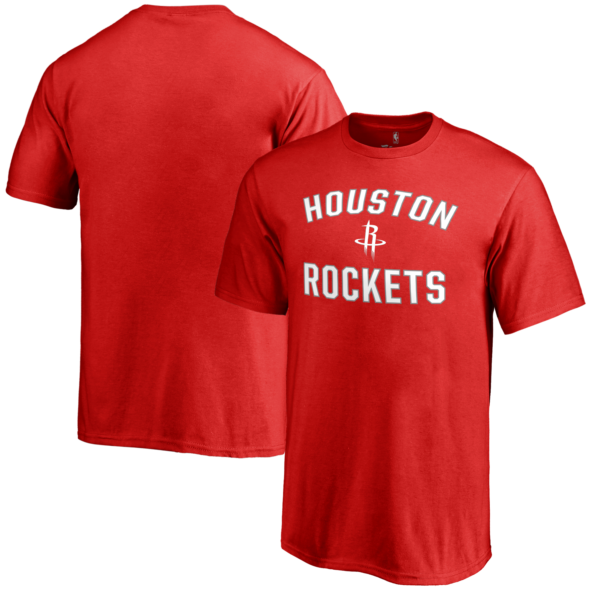 Houston Rockets Youth Victory Arch T-Shirt - Red