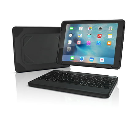 Zagg Rugged Book Keyboard And Folio Case Le 9 7 Inch Ipad Pro