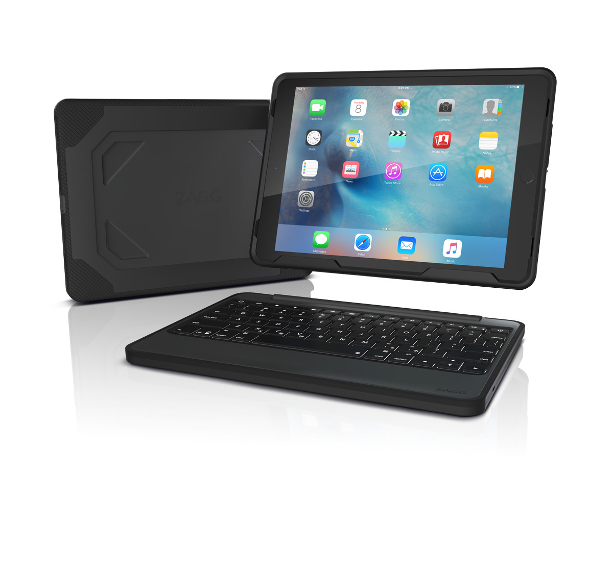 ZAGG Rugged Book - Keyboard and Folio Case - Apple 9.7-inch iPad Pro