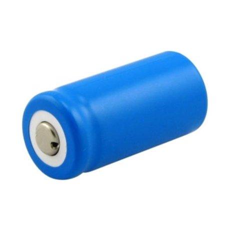 Lithium Ion Battery Bundle (Insten 4 pcs CR123A CR 123 123A Rechargeable Lithium-ion Battery, 3V (4-Pack Bundle) )