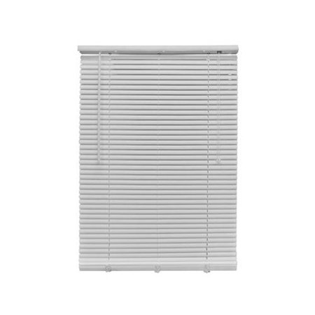 Nien Made Usa 7164lfw Mini Blinds White Pvc 1 X 71 X 64 In