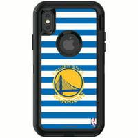 Golden State Warriors OtterBox iPhone Defender Striped Design Case