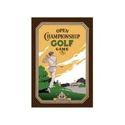 Open Championship Golf Game Print (Unframed Paper Print 20x30)