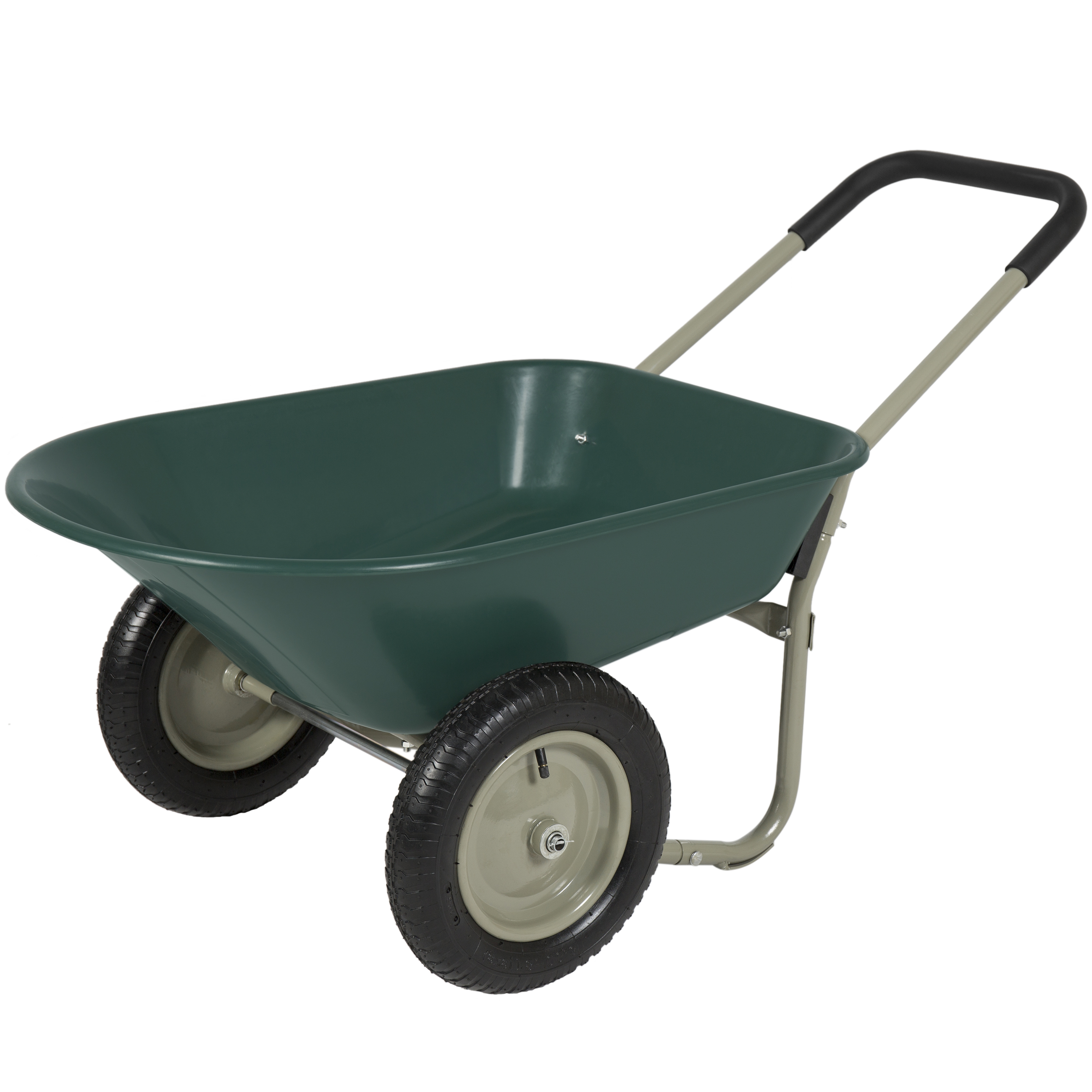 Best Choice Products Dual Wheel Home Utility Yard