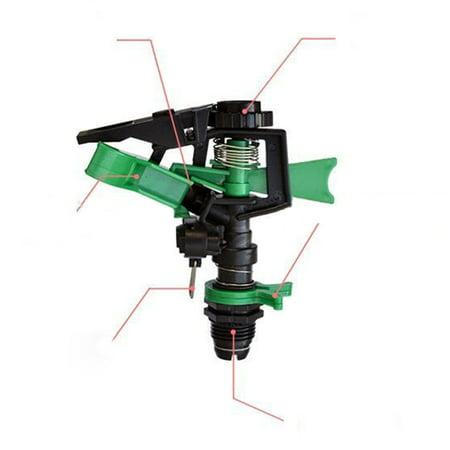 1/2inch Garden Sprinkler, 360 Degree Rotating Lawn Sprinkler with a Large Area of Coverage Adjustable - image 4 of 5