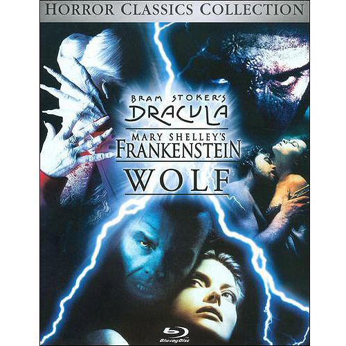 Bram Stoker's Dracula / Mary Shelley's Frankenstein / Wolf (Blu-ray) (BD-Live) (Widescreen)