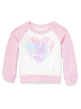 9d275d5c Product Image The Children's Place Long Sleeve Raglan Colorblock Graphic  Pullover (Baby Girls & Toddler ...