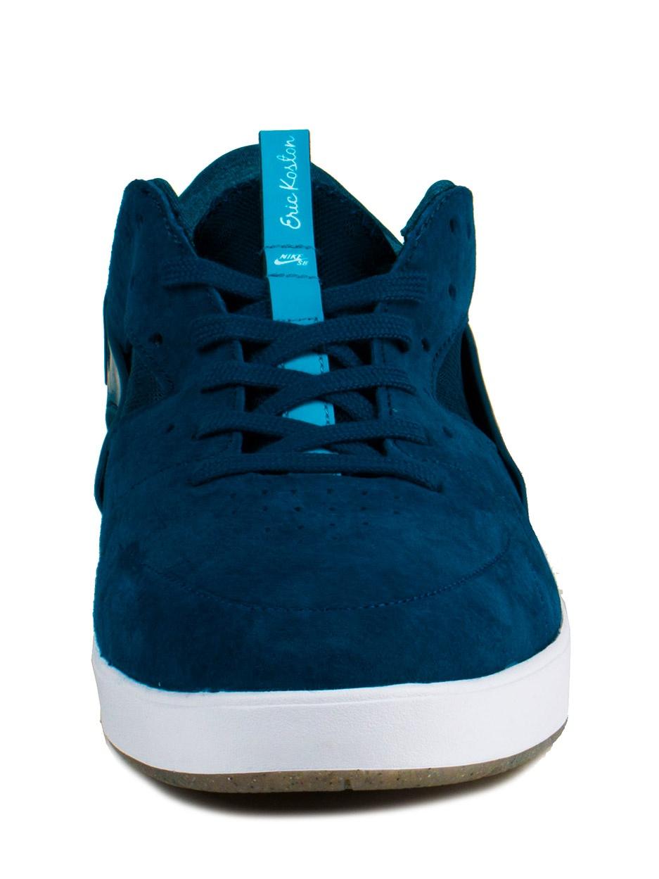 35d6184a3395 Nike - Nike Mens Eric Koston Huarache Blue Force Blue Lagoon-White 705192- 441 - Walmart.com