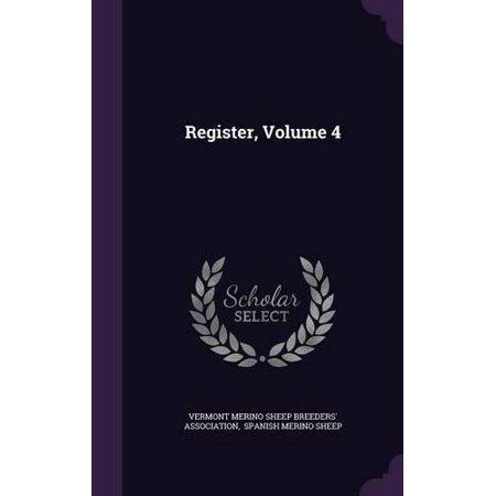 Register  Volume 4