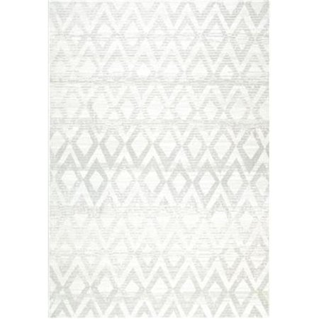 Dynamic Rugs MS6912124902 Mysterio Rectangular Rug, Silver - 5 ft. 3 in. x 7 ft. 7 in. - image 1 of 1