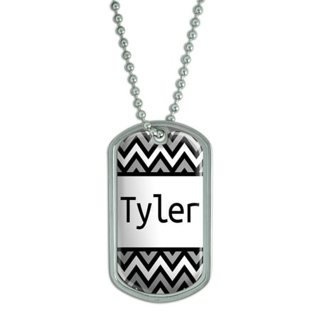 Male Names - Tyler - Dog Tag
