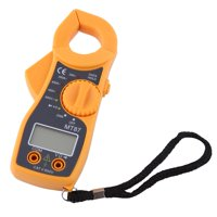 HERCHR Digital Clamp Multimeter AC DC Voltmeter Ammeter Ohmmeter Volt Tester LCD Meter, Voltmeter, Ohmmeter, VOM Tester