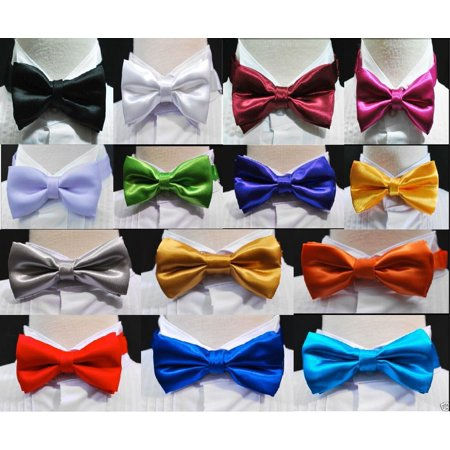New Bow Tie 14 colors choice Baby Toddler Boys Wedding Formal Tuxedo Vest Suit - Boys Suit