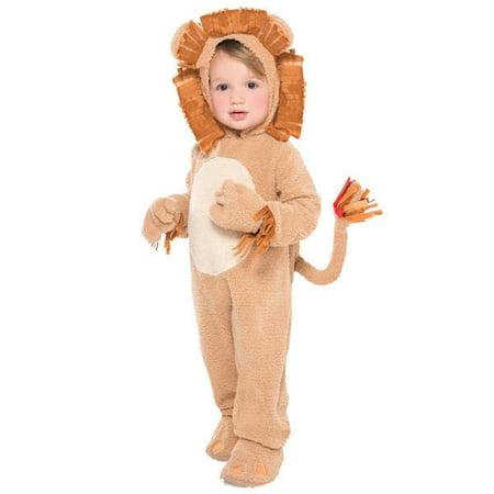 Loveable Lion Costume Infant 6-12 Months