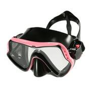 Men's Women's -fog UV400 Protection Single Window Diving Snorkeling Swimmin