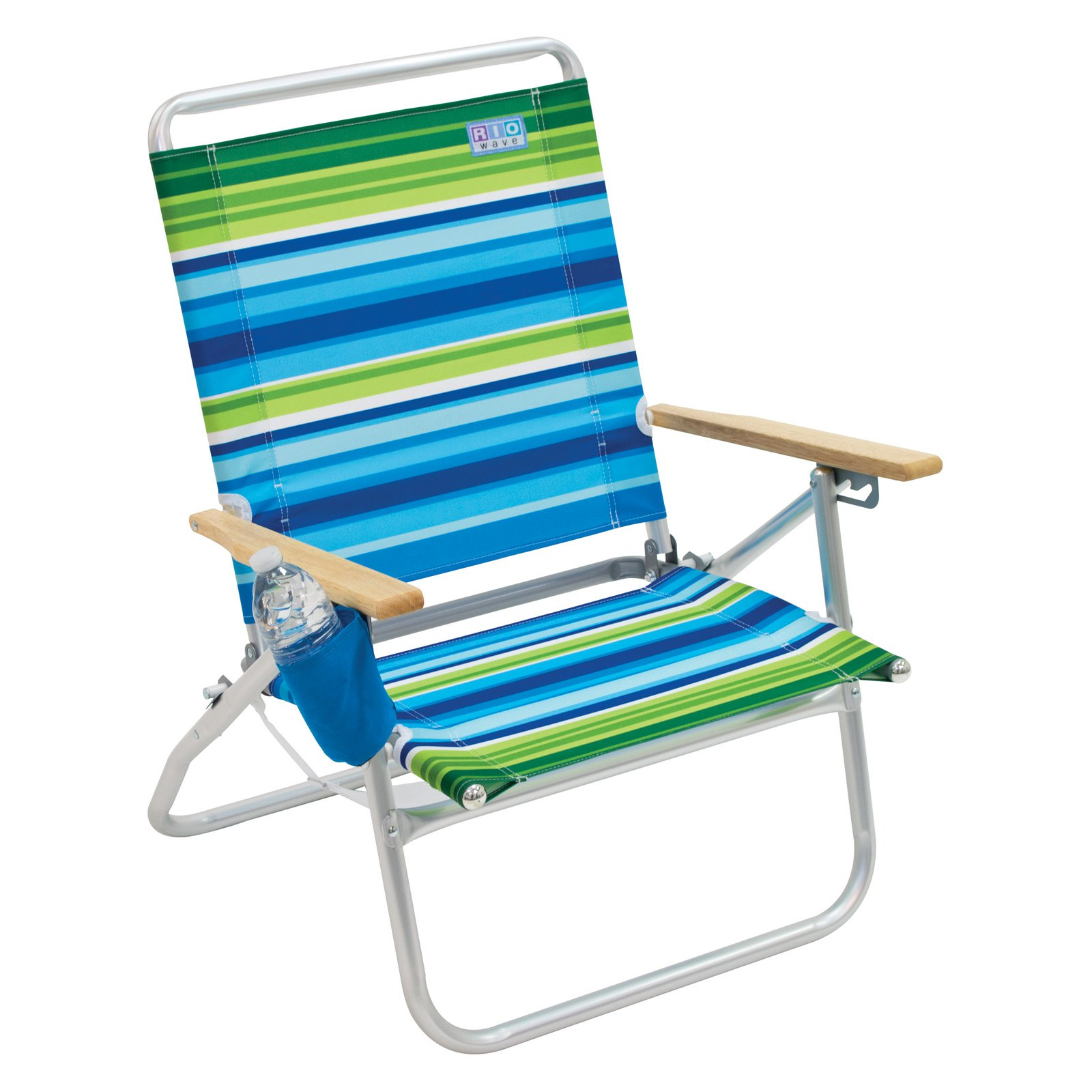 Rio Aloha 3-Position Aluminum Beach Chair