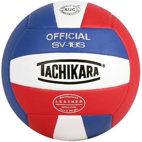 Tachikara 18S Composite Volleyball Ro/Wt/Scarlet