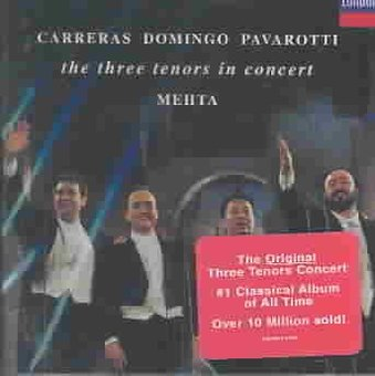 Three Tenors in Concert (CD) (The Three Tenors The Best Of The 3 Tenors)