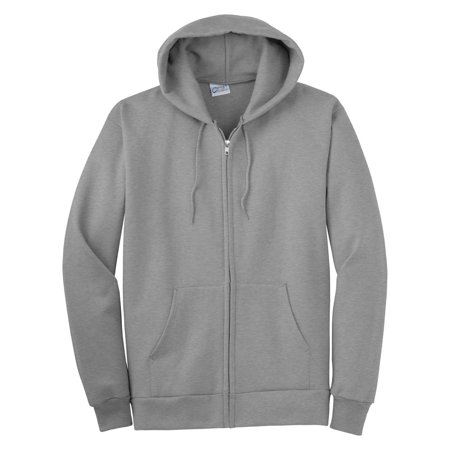 Port   Company Mens Full Zip Hooded Sweatshirt