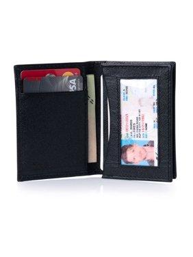 6c205b773b02 Product Image Alpine Swiss RFID Leather Business Card Wallet Minimalist ID  Window Card Holder