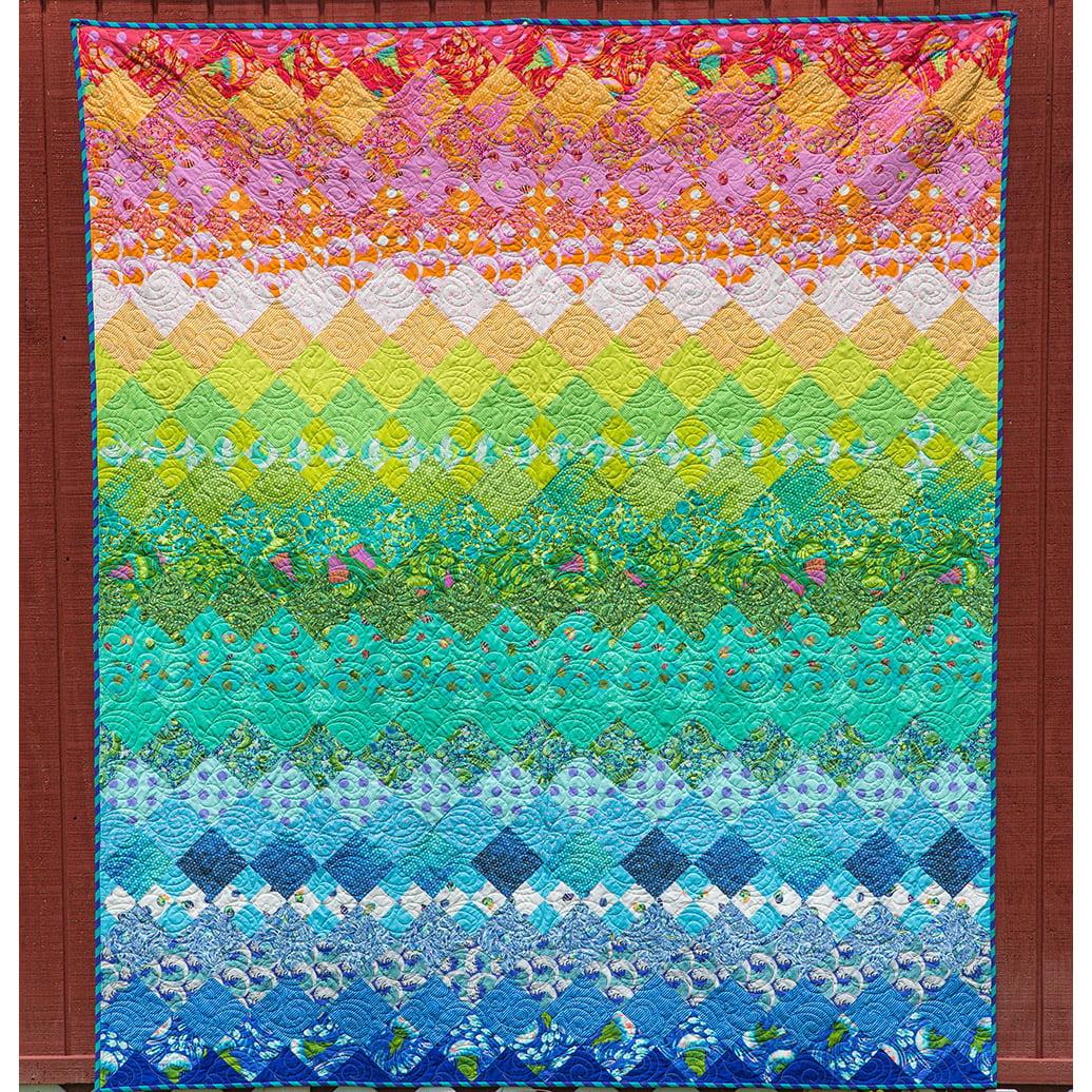 Free Spirit Tula Pink Zuma Aurora Quilt Kit Walmart Com