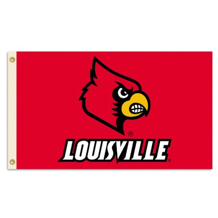 Bsi Products Inc Louisville Cardinals Flag With Grommets Flag With Grommets