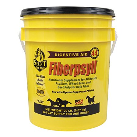 Select The Best Fiberpsyll Sand Remover 4 Inch1 Water Soluble Horse Supplement 20 Lb