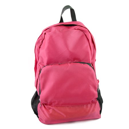 Lightweight Packable Outdoor Travel Backpack Hiking Camping Daypack Bag Fuchsia - image 4 de 4