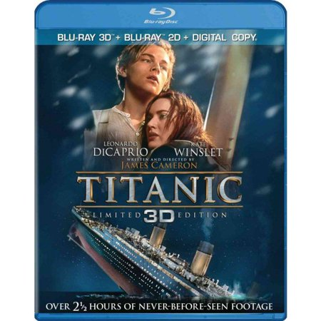 Titanic (3D Blu-ray + Blu-ray)](Halloween 3d Dvd)