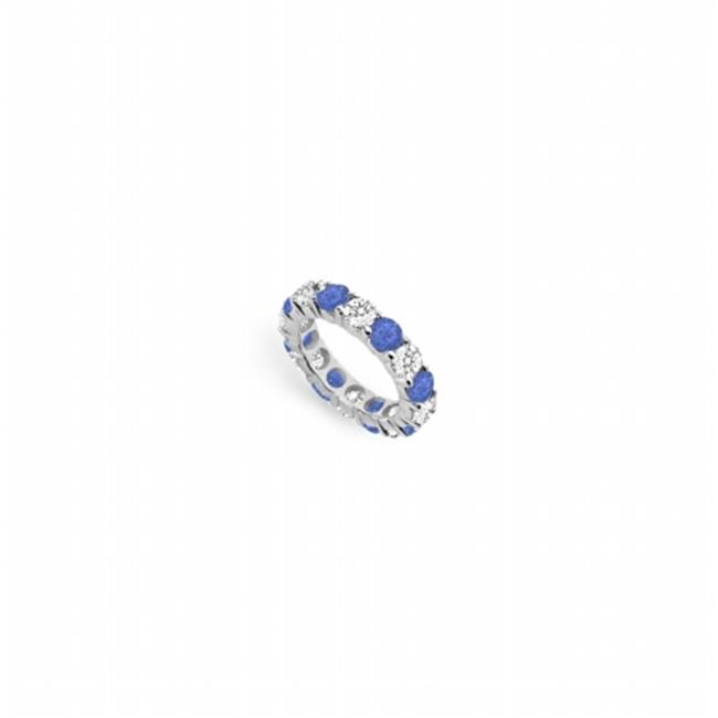 FineJewelryVault UB14WR500DS226225-101RS5 Diamond & Sapph...