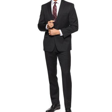 NEW Black Mens Size 48 Three Pocket Two Button Suit Set Spider Man 3 Black Suit