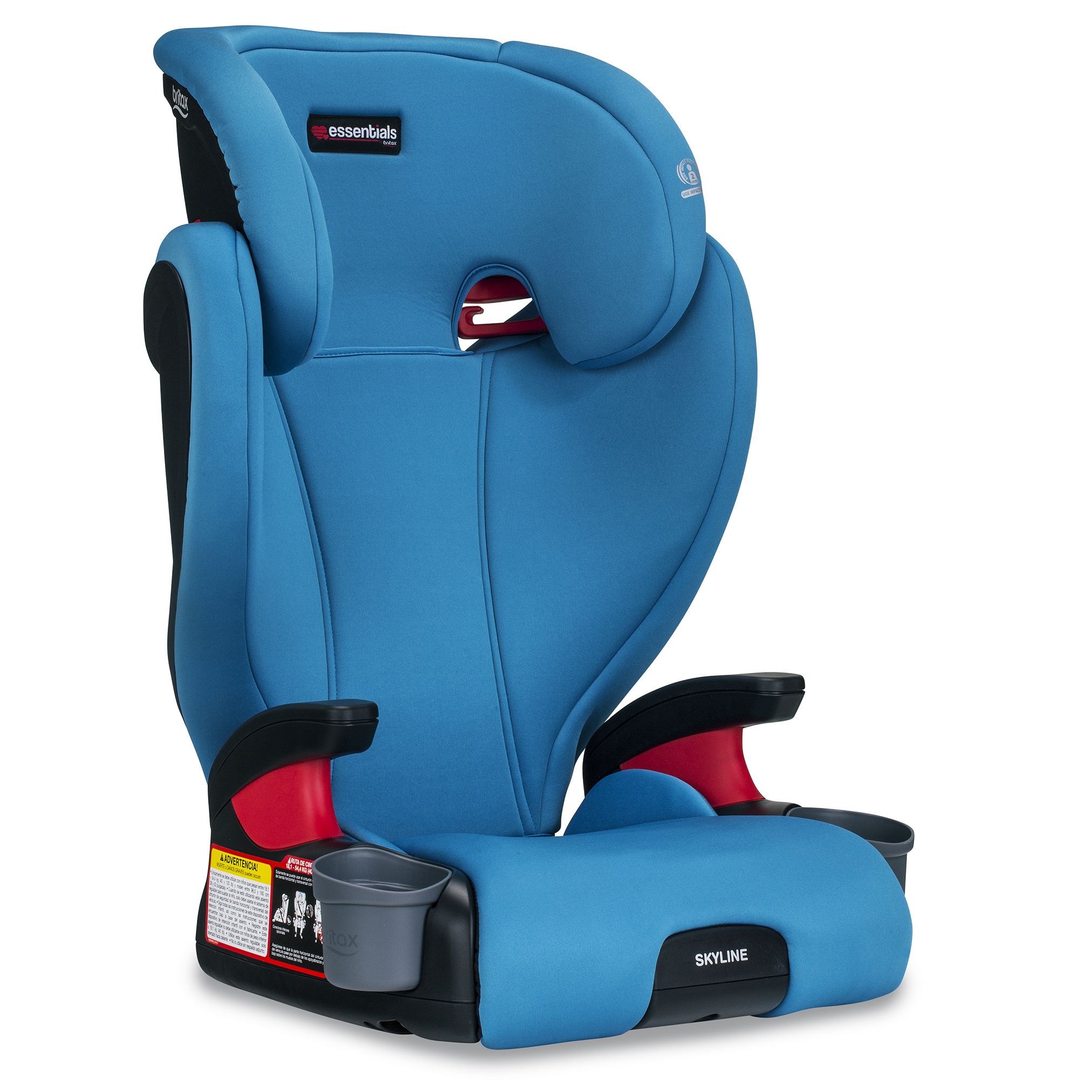 Britax Skyline Belt-Positioning Booster Seat, Teal by Britax
