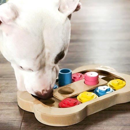 Interactive Dog Bone MDF / Wood Puzzle - Find The Hidden Treats 11