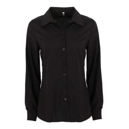 Plus Size 2XL Women's Blouses Long Sleeve Sexy Slimming Blouses for Women Clearance Career Shirts Turn-down Collar Office Tops
