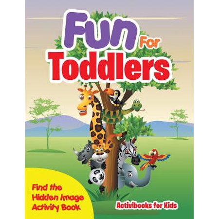 Fun for Toddlers -- Find the Hidden Image Activity Book - Halloween Activities For Toddlers Los Angeles
