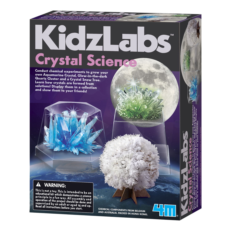 KidzLabs 4M Crystal Science Kit
