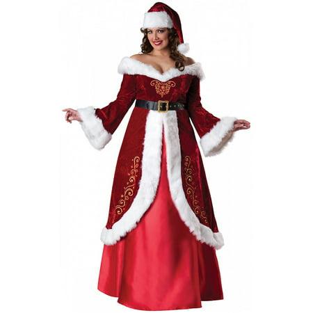 Mrs St Nick Adult Costume Plus Size 3x Walmart