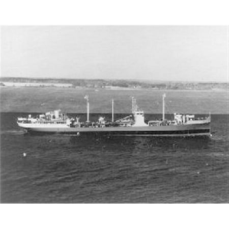 Canvas Print Maumee (AO-2) underway, date and place unknown. US Navy photo from Underseawarfare magazine. img URL Stretched Canvas 10 x 14 ()