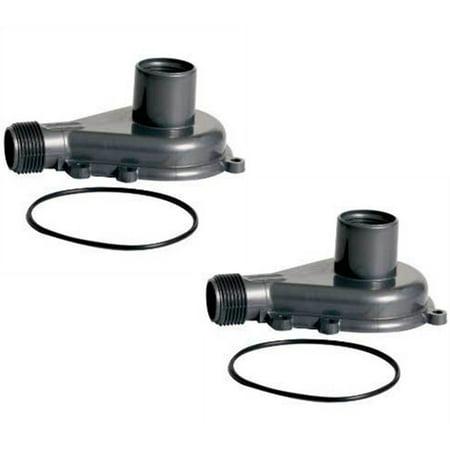 2 Danner Supreme Mag Drive Impeller Cover Replacement Parts w Seal Ri