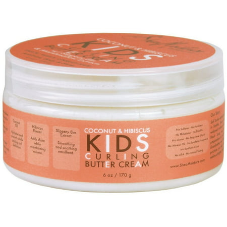 3 Pack - Shea Moisture Kids Curl Butter Cream Coconut & Hibiscus 6 oz